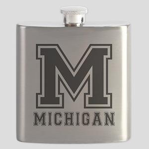 Michigan State Designs Flask