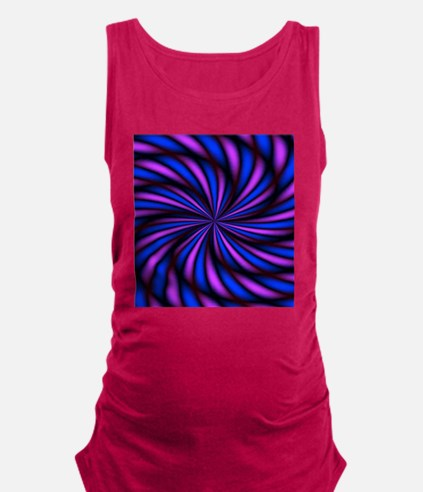 Psychedelic 16 Maternity Tank Top