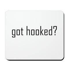 Crochet - Got Hooked? Mousepad