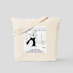 Pre-Traumatic Stress Syndrome Tote Bag