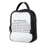 Canadian Pride STRONG & FREE Neoprene Lunch Bag