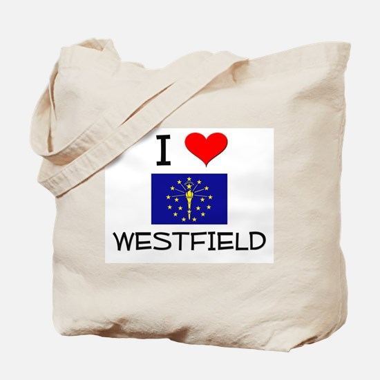 I Love WESTFIELD Indiana Tote Bag