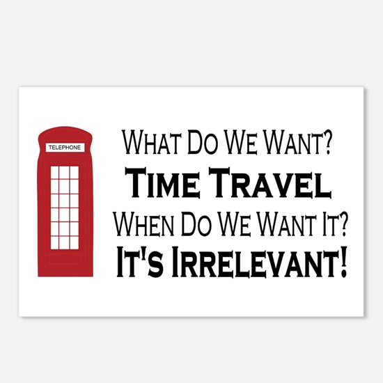 Time Travel Postcards (Package of 8)