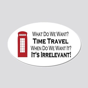 Time Travel Wall Decal