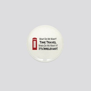 Time Travel Mini Button