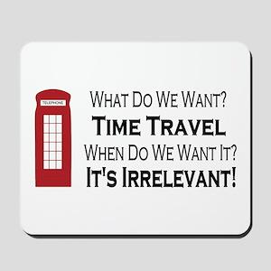 Time Travel Mousepad