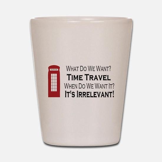 Time Travel Shot Glass