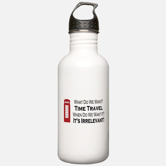 Time Travel Water Bottle