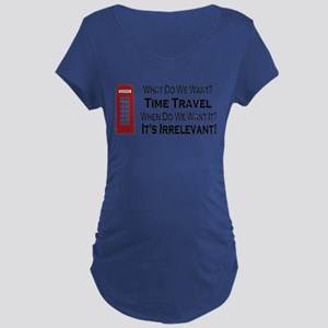 Time Travel Maternity T-Shirt