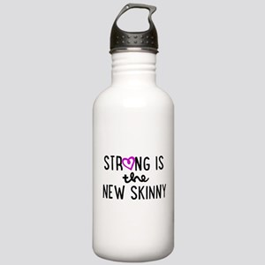 Strong is the New Skinny Girly Stainless Water Bot