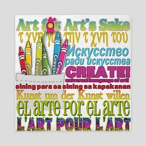 Create Art for Arts Sake Queen Duvet