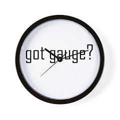 Got Gauge? Wall Clock