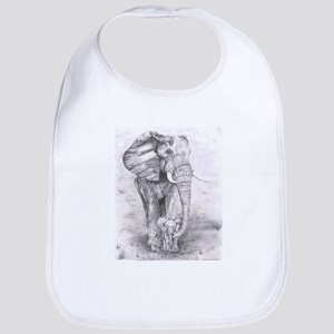 African Elephants Bib