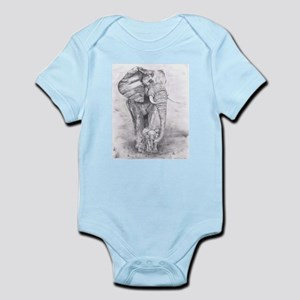 African Elephants Body Suit