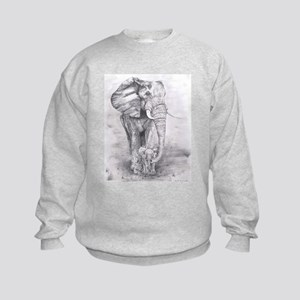 African Elephants Sweatshirt