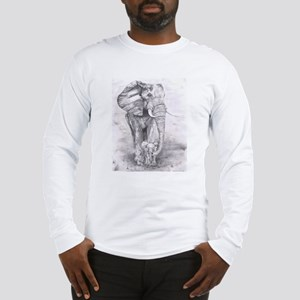 African Elephants Long Sleeve T-Shirt