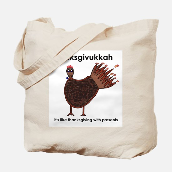 Thanksgivukkah Tote Bag
