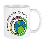 Plant Your Way to Israel Mug