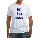 DC Bus Rider Fitted T-Shirt