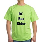 DC Bus Rider Green T-Shirt