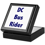 DC Bus Rider Keepsake Box
