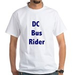DC Bus Rider White T-Shirt