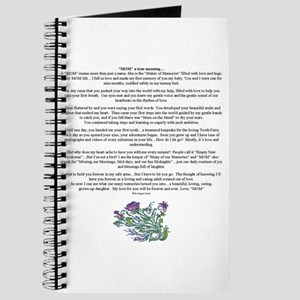 MOM a true meaning of love Journal