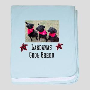 Labdanas Black Lab Design baby blanket