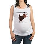Thanksgivukkah 2013a Maternity Tank Top