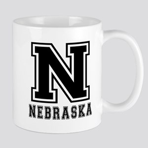 Nebraska State Designs Mug