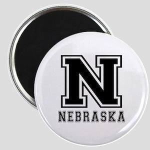 Nebraska State Designs Magnet