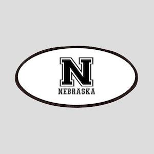 Nebraska State Designs Patches