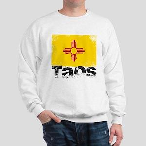 Taos Grunge Flag Sweatshirt