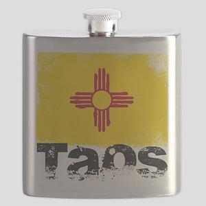 Taos Grunge Flag Flask