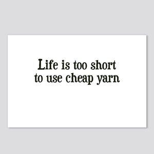 Cheap Yarn Postcards (Package of 8)
