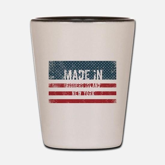 Made in Fishers Island, New York Shot Glass