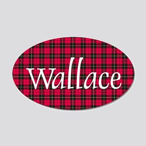 Tartan - Wallace 20x12 Oval Wall Decal