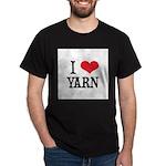 I Love Yarn Dark T-Shirt