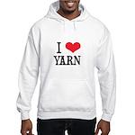 I Love Yarn Hooded Sweatshirt