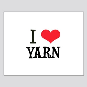 I Love Yarn Small Poster