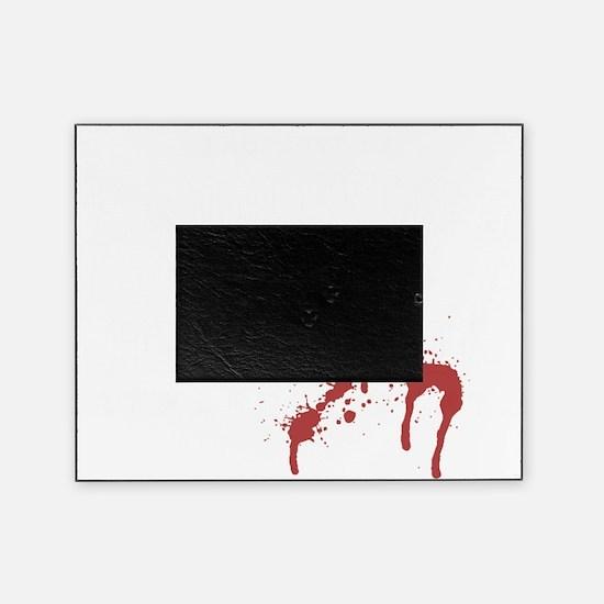 3-haddonfield_highschool-black Picture Frame