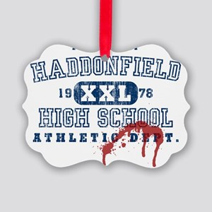 3-haddonfield_highschool Picture Ornament