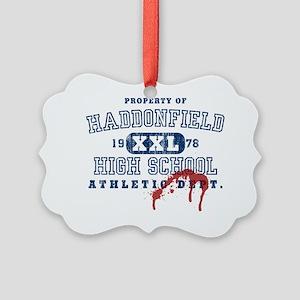 3-haddonfield_highschool Picture Ornament