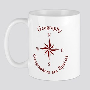 Geographers are Spatial Mug