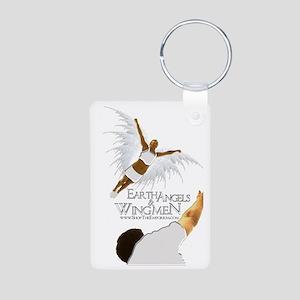 Earth Angels & Wingmen Aluminum Photo Keychain