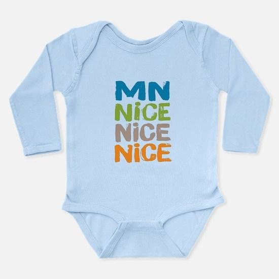 Minnesota Nice Nice Nice Body Suit