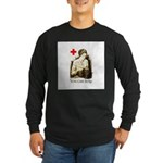 WWI Knitter Long Sleeve Dark T-Shirt
