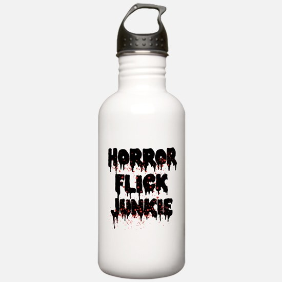 Horror Flick Junkie Water Bottle