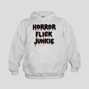 Horror Flick Junkie Kids Hoodie