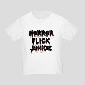 Horror Flick Junkie Toddler T-Shirt